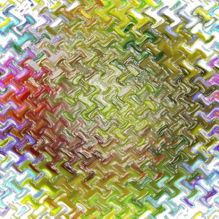 cubismo: Resumen de fondo coloración del gradiente abstracto con efectos cubismo, la onda y Plasticwrap visuales, buena para su diseño