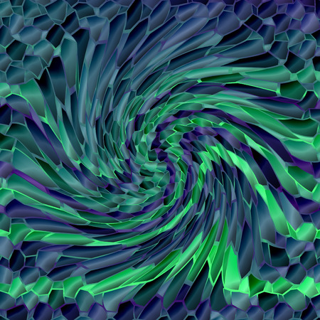 pinch: Abstract coloring background of the shadows gradient with visual mosaic,pinch and twirl effects,good for your design Stock Photo
