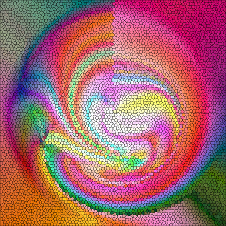 pinch: Abstract coloring background of the shadows gradient with visual wave,twirl,pinch and poolar coordinates effects