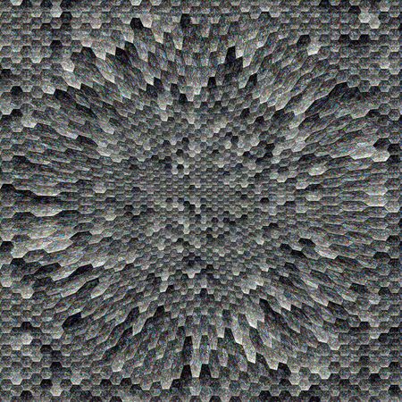 pinch: Abstract stone pattern background of the gradient with visual mosaic and pinch effects Stock Photo