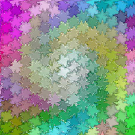 harmonies: Abstract coloring background of the color harmonies  gradient with visual wave,mosaic,stained glass and plastic wrap effects Stock Photo