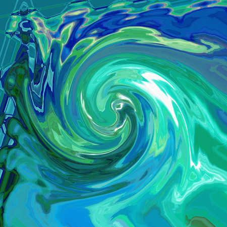 Abstract coloring background of the horizon gradient with visual cubism,lighting,wave and twirl effects