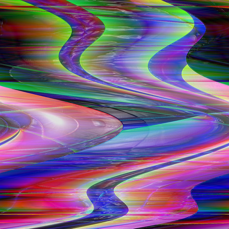 wrap: Abstract coloring background of the skyline gradient with visual lighting,plastic wrap and shear  effects