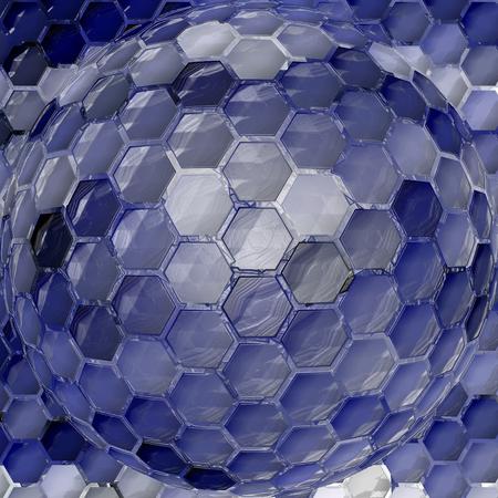 cubismo: Resumen de fondo del gradiente con el cubismo visual, mosaico, giro, pellizco, spherize y los efectos de envoltura de plástico Foto de archivo