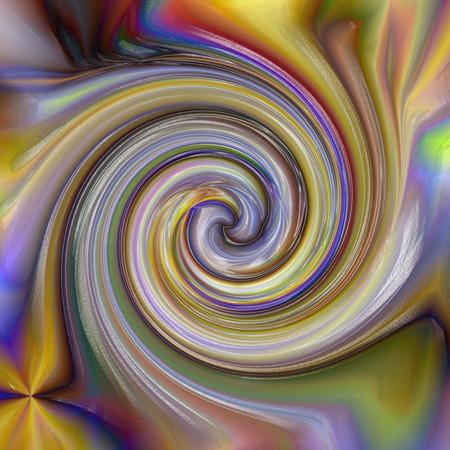 Abstrakter Farbtonhintergrund der Goldsteigung mit Sichtlicht-, Rotation- und Welleneffekten Standard-Bild - 70281727