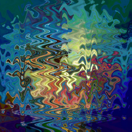coordinates: Abstract coloring background of the horizon gradient with visual wave,twirl,poolar coordinates and lighting effects good for your design