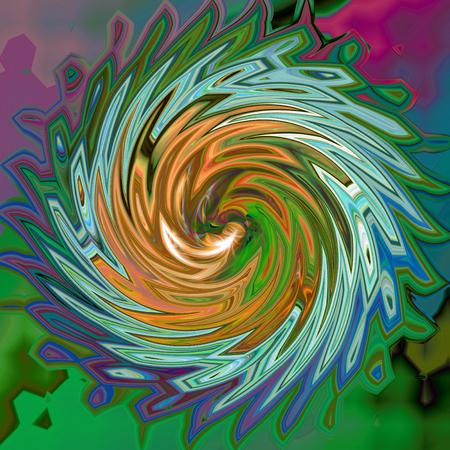 Abstrakt Färbung Hintergrund des Horizonts Gradienten mit visuellen Welle, klemme, wirbeln und Lichteffekte Standard-Bild - 70842422