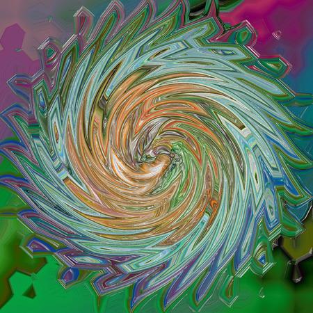 Abstrakt Färbung Hintergrund des Horizonts Gradienten mit visuellen Welle, klemme, wirbeln und Lichteffekte Standard-Bild - 70842423