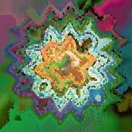 Abstrakt Färbung Hintergrund des Horizonts Gradienten mit visuellen Welle, prise, Glasmalerei und Lichteffekte Standard-Bild - 70842424