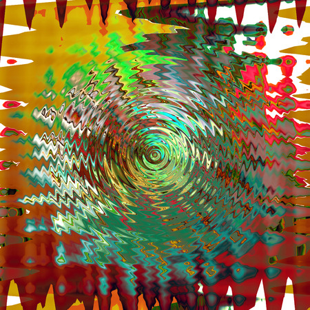 Abstract coloring background of the horizon gradient with visual pinch,zigzag,twirl and lighting effects Stock Photo
