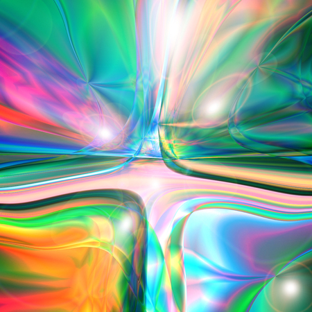 Abstract coloring background of the horizon gradient with visual wave,mercator and lighting effects Stock Photo