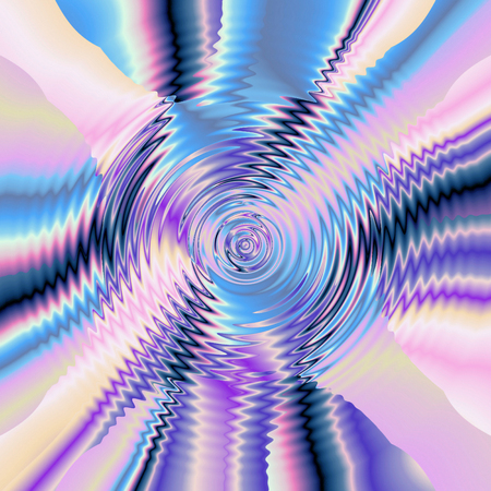 pinch: Abstract coloring background of the pastels gradient with visual wave,pinch,zigzag,shear and lighting effects