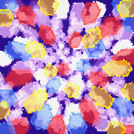 Abstract coloring background with visual bokeh and lighting effects