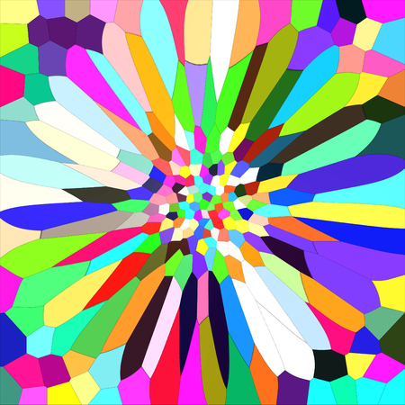 Abstract coloring background of the gradient with wave,stained glass and lighting effects Stock Photo