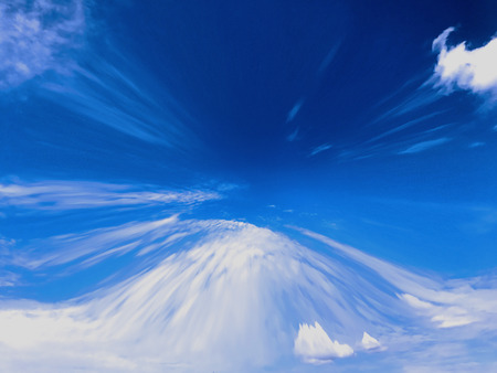 Abstract coloring background of the deformed skies with visual wave,pinch and lighting effects