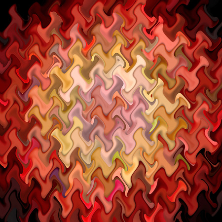 Abstract coloring background of the deformed bokeh with visual wave,mosaic and lighting effects