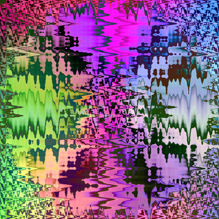 Abstract colouring background of the gradient with a visual wave, shear, lighting and mosaic effects