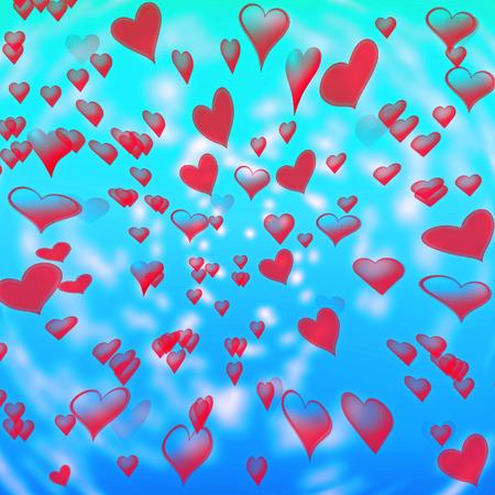 Happy Valentine's Day 版權商用圖片