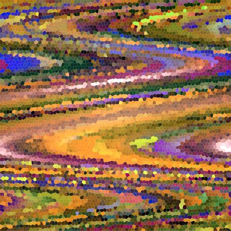 Color gradient  of the abstract geometric shape. Foto de archivo