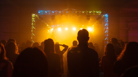 venues: Concert venues SHOP 108, the crowd at the concert
