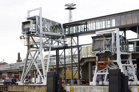 telescopic: Telescopic gangway in Helsinki port