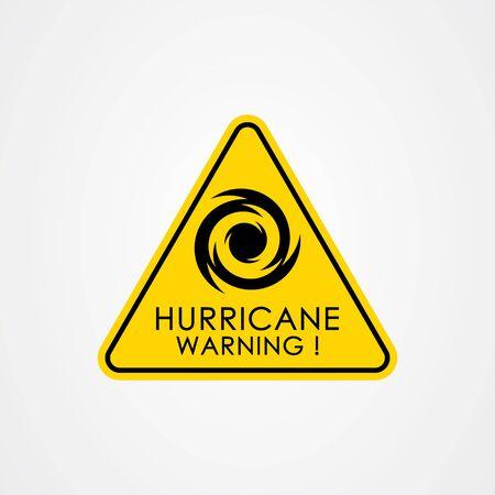 Hurricane season flat vector illustration.