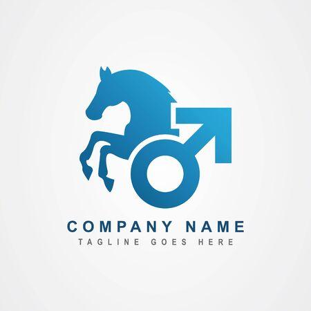 Male stimulant logo design inspiration