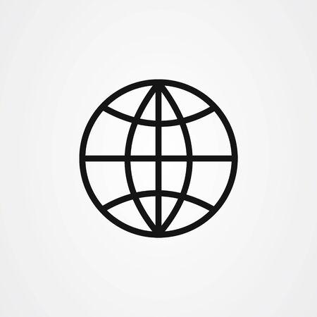 Web icon design. website symbol vector illustration Ilustracje wektorowe