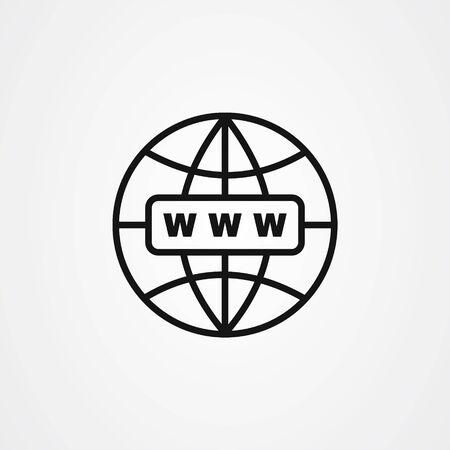 Web icon design. website symbol vector illustration 스톡 콘텐츠