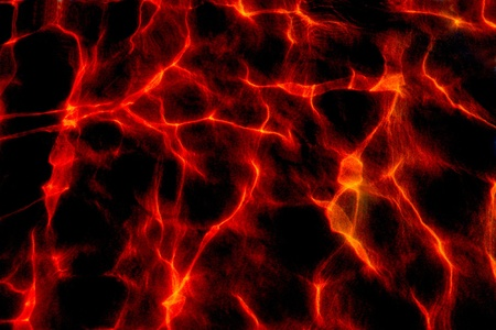 randomness: Background from fiery patches of light    Stock Photo