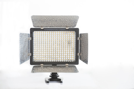 300 LED light with stand Stock Photo - 22385475