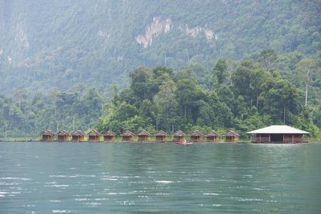 sok: Resorts in Khao Sok, Thailand Editorial