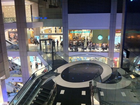 interior: Interior of shopping mall