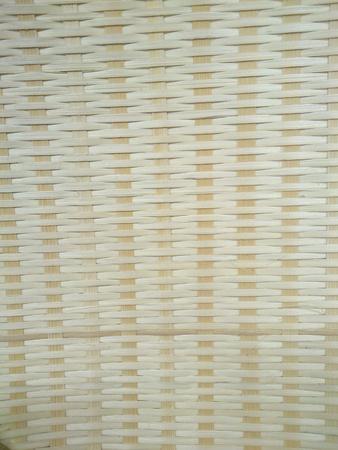 woven: Closeup of woven rattan basket