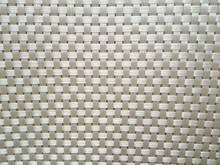 woven: Closeup of bronze placemat