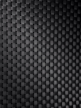 woven: Close up of black woven texture Stock Photo