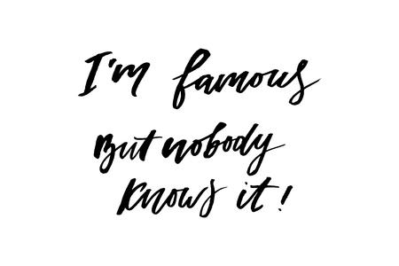 slogan famous phrase graphic vector Print Fashion lettering