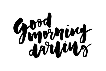 slogan Good morning phrase graphic vector Print Fashion lettering