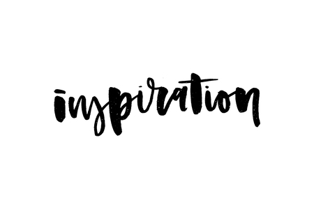 slogan Inspiration phrase graphic vector Print Fashion lettering Ilustracja