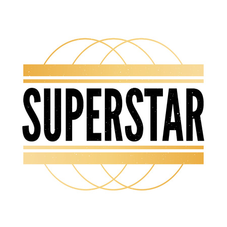 slogan Superstar phrase graphic vector Print Fashion lettering