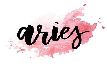 Aries lettering Calligraphy Çizim