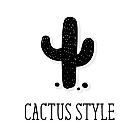 Cactus style Vector Background Pattern Cute Illustration 矢量图像
