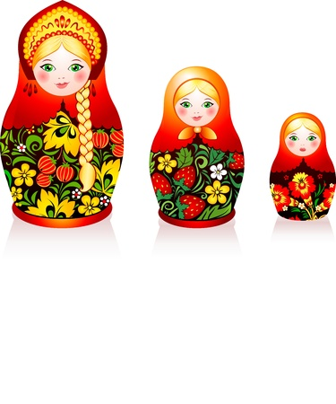 mu�ecas rusas: Matryoshka mu�ecas rusas tradici�n