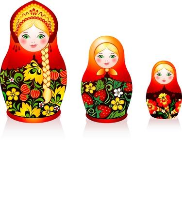matroushka: Russian tradition matryoshka dolls