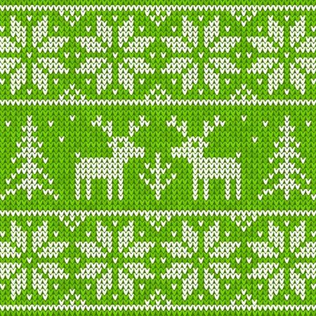 Sweater with deer Stock Vector - 16296065
