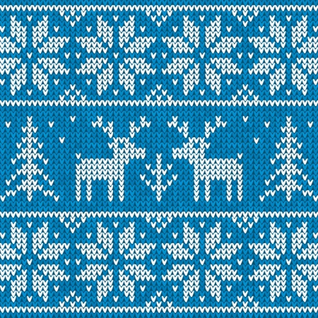 SWEATER: Sweater with deer Illustration