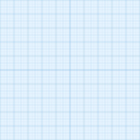 Real size blue  millimeter engineering paper Vector