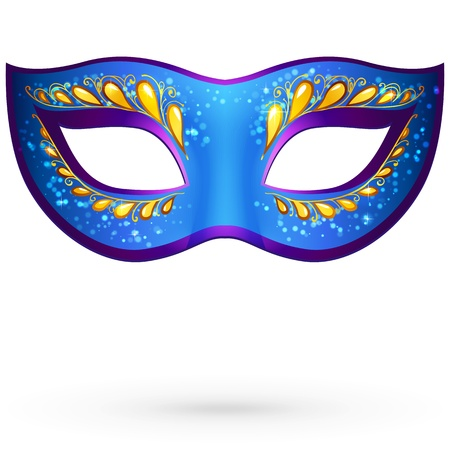 ornate venetian carnival mask Vector
