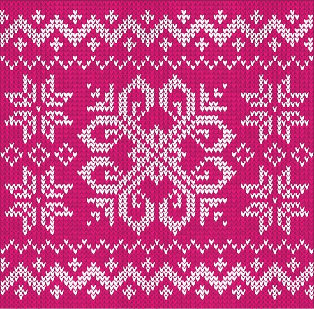 Rose Christmas ornamental embroidery seamless pattern photo