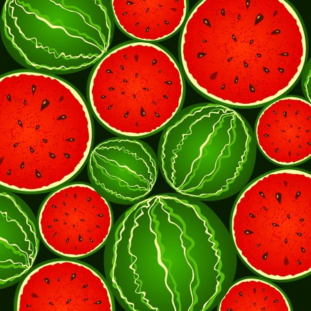 Juicy green and red watermelon background Stock Photo - 17439356